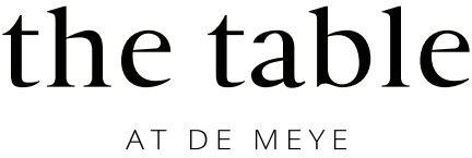 Table at De Meye Logo